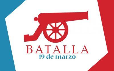 Batalla 19 de marzo, primera batalla después de nuestra Independencia